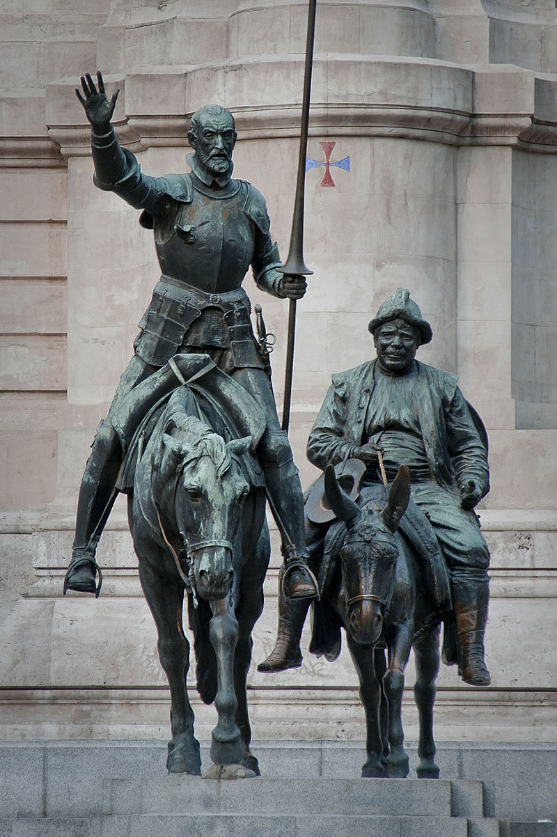 800px-Bronze_statues_of_Don_Quixote_and_Sancho_Panza